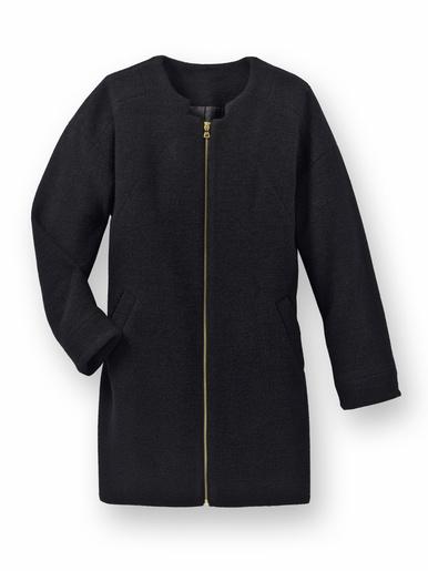 Manteau forme ovoïde 30% laine