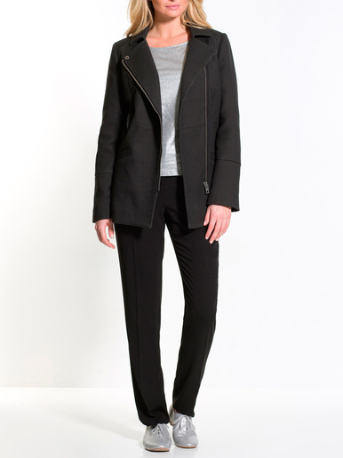 Manteau zippé poitrine standard