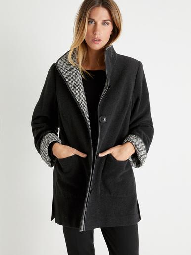 Manteau court longueur 82 à 88 cm