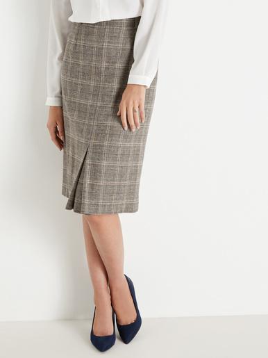 Jupe droite longueur 62cm - Charmance - Modalova