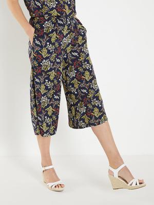 Jupe-culotte fleurie