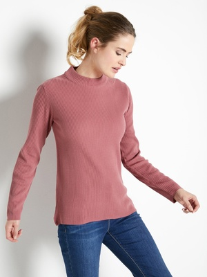 Pull chaussette col montant