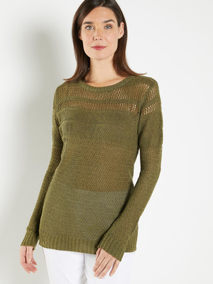 Pull maille ruban