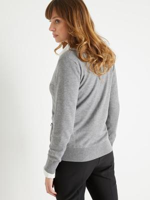 Gilet veste femme classique
