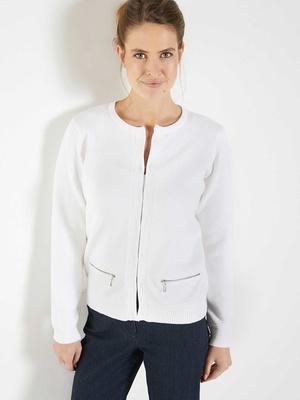Cardigan classique poches zippées