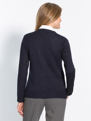 Gilet classique 50% laine mérinos