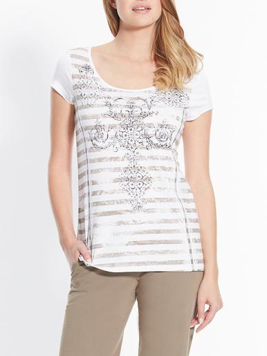 T-shirt motif baroque