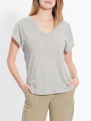 Tee-shirt évasé sans manches