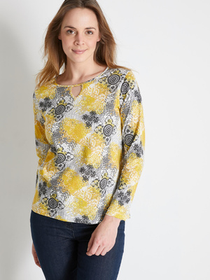 Tee-shirt manches longues pur coton