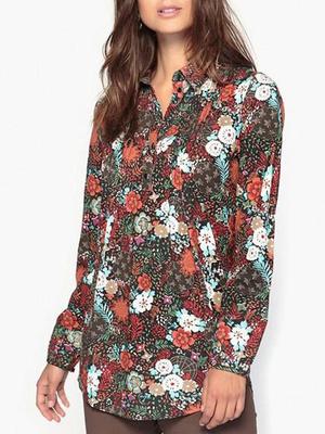 LongT FemmeBlouse Shirt TuniqueTop TaillePour LongueGrande QxsChrdotB