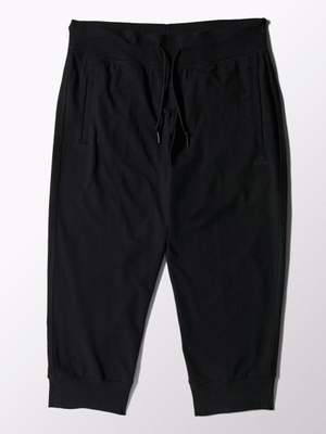 Pantalon noir Essentials 3/4 Pant
