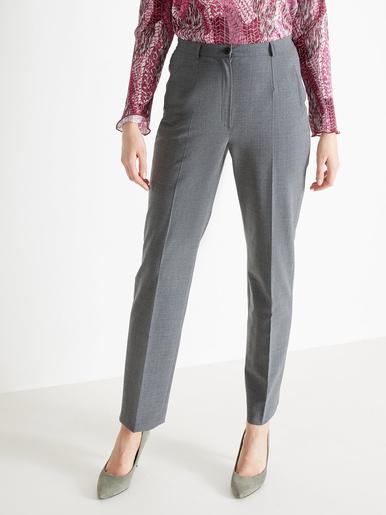 Pantalon 43% laine stature - d'1,60m - Charmance - Modalova