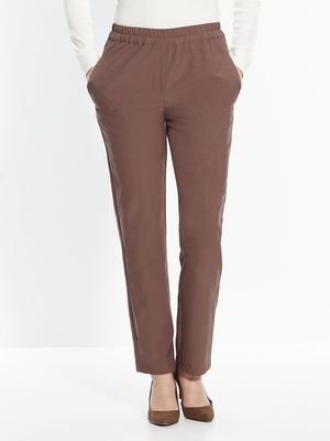 Pantalon élastiqué