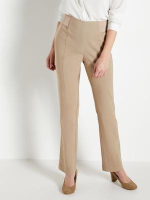 Pantalon taille élastiquée ventre plat