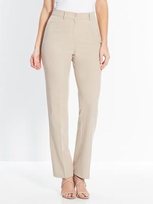 Pantalon droit, spécial ventre rond