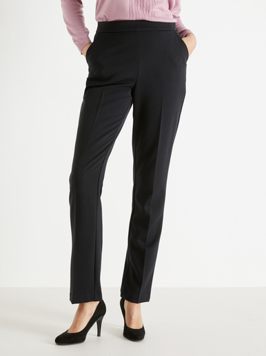 Pantalon droit effet ventre plat - Charmance - Modalova