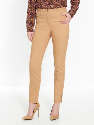 Pantalon fuselé 7/8ème bas zippé