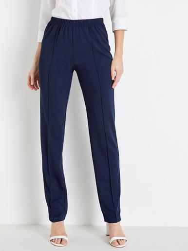 Pantalon en maille stature + d'1,60m - Charmance - Modalova