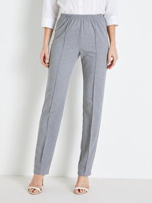 Pantalon en maille, stature + d'1,60m