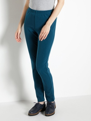 Legging uni en velours extensible