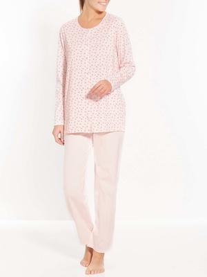 Pyjama maille douce fleurie