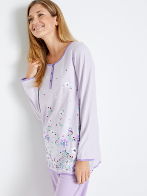 Pyjama fantaisie maille pur coton