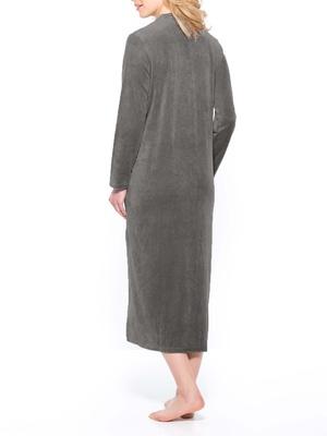 Robe de chambre, maille velours