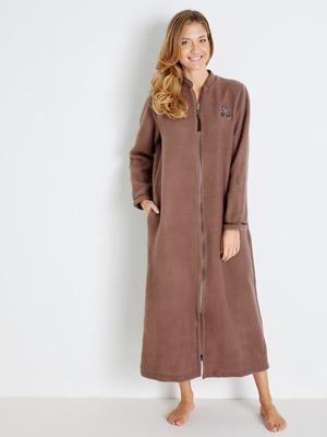 Robe de chambre courtelle molleton chaud