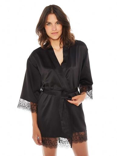 Peignoir kimono Dallas - Pomm'poire - Modalova