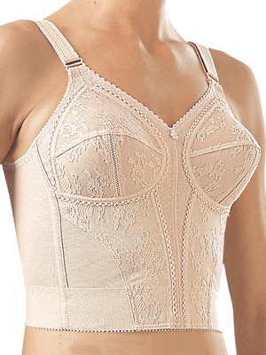 Bustier sans armatures grand maintien