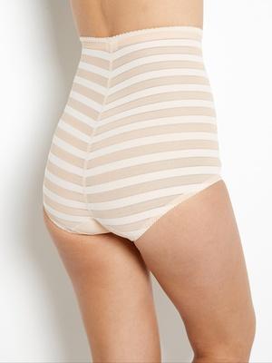 Culotte gainante, taille haute