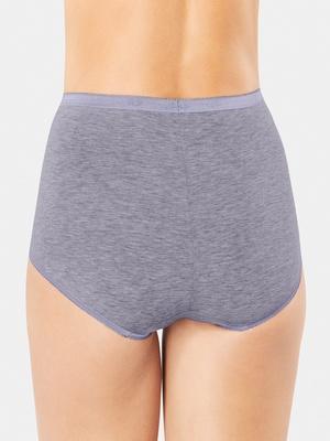 Culottes maxi coton confort, en lot de 3