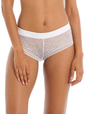 Shorty dentelle maille extensible