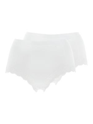 Culotte haute Elégance Coton, lot de 2
