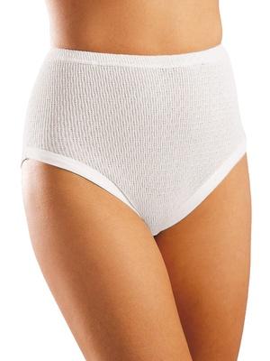 Culottes hautes pur coton lot de 3