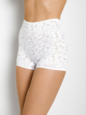 Lot de 2 shorties dentelle extensible