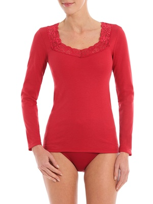 Chemise manches longues anti-froid