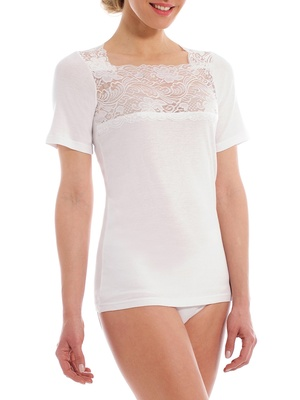 Chemises tee-shirts lot de 2 dentelle