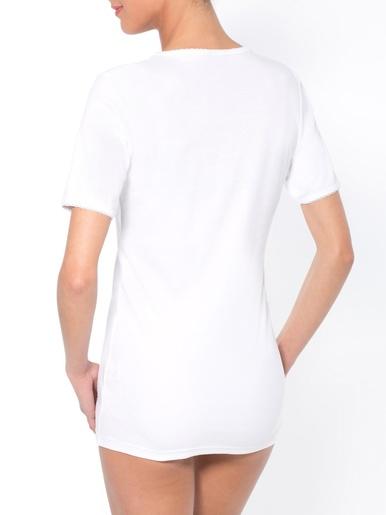 Balsamik Chemises Manches Courtes Lot De 2 Lingerie Blanc 46/48