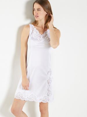 Fond de robe dentelle de Calais 90cm