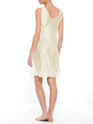 Fond de robe maille et dentelle, 95cm