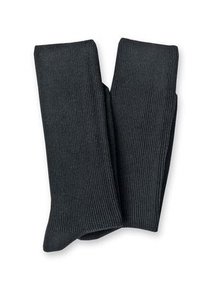 Mi-chaussettes lot de 2 paires coton