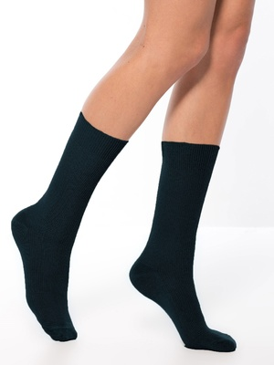 Mi-chaussettes lot de 2 paires, coton