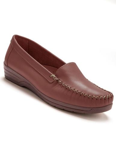 Mocassins cuir largeur confort