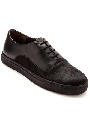 Sneakers bi-matière