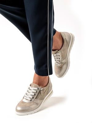 Baskets avec zip côté aérosemelle® amovi