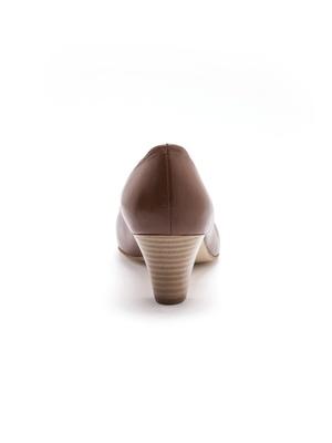 Escarpins cuir, grande largeur