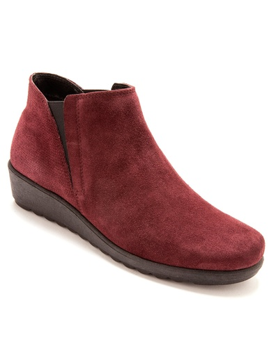 6314ef7e945a Boots élastiquées à semelle amovible - Balsamik