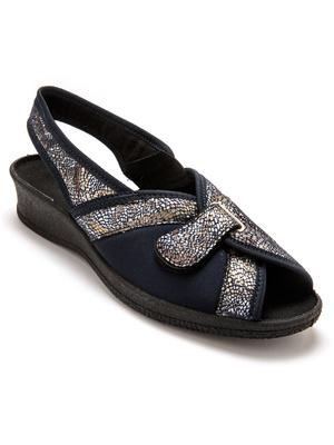 Sandales textile pieds sensibles