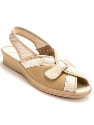 Sandales textile, pieds sensibles